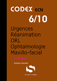 6- Anesthésie - Urgences - Réanimation - Ophtalmologie - ORL - Maxillo-facial (2e édition)