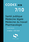 7- Santé Publique - Médecine légale - Médecine du travail - Pharmacologie